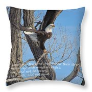 Isaiah  Throw Pillow