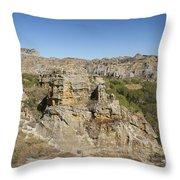 Isalo National Park Madagascar 2 Throw Pillow