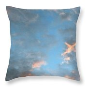 Isee An Airplane Throw Pillow