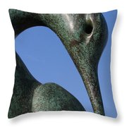 Isis Sculpture Front Throw Pillow