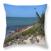 Isla Cubagua  Throw Pillow
