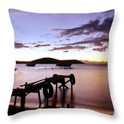 Isla Del Sol Bolivia Throw Pillow