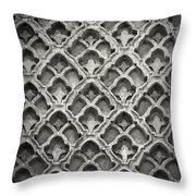 Islamic Art Stone Texture Throw Pillow