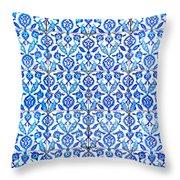 Islamic Tiles 01 Throw Pillow