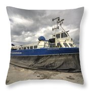 Island Express  Throw Pillow