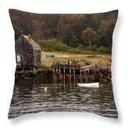 Island Fall Throw Pillow
