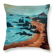Island Of Dreams Throw Pillow
