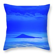 Island Of Yesterday Throw Pillow by Christi Kraft