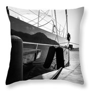 Island Reflection Throw Pillow