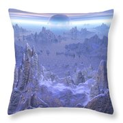 Islandia Evermore Throw Pillow