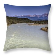 Islands On The River In Jasper Throw Pillow