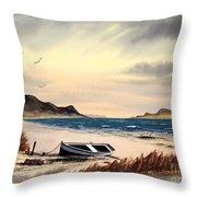Isle Of Mull Scotland Throw Pillow