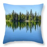 Isle Royale Reflections Throw Pillow