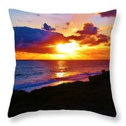 Isle Sol Chica  Throw Pillow