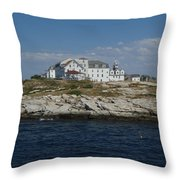 Isles Of Shoals 2 Throw Pillow