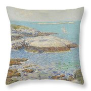 Isles Of Shoals Throw Pillow by Childe Hassam