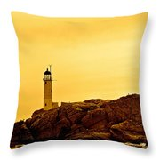 Isles Of Shoals Throw Pillow