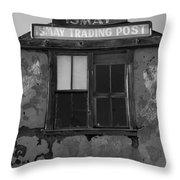 Ismay Ut Trading Post 03 Throw Pillow