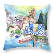 Isola Maggiore In Italy 01 Throw Pillow