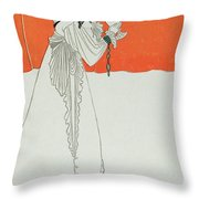 Isolde Drinking The Poison Throw Pillow