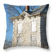 Israel Beetison House No. 4 Throw Pillow