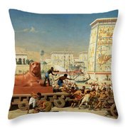 Israel In Egypt, 1867 Throw Pillow