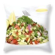 Israeli Salad  Throw Pillow
