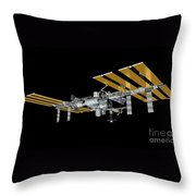 ISS Throw Pillow