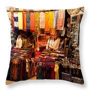 Istanbul Grand Bazaar 08 Throw Pillow