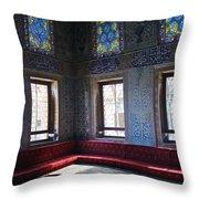 Istanbul Topkapi 1 Throw Pillow