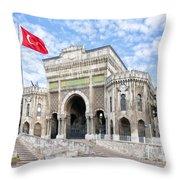 Istanbul University 03 Throw Pillow