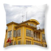 Istanbul Wooden Houses 04 Throw Pillow