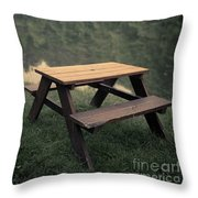 It Came From The Lake Throw Pillow