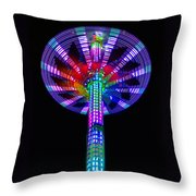 It Came From The Sky Throw Pillow