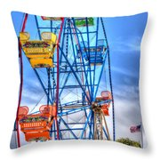 It Comes Full Circle Throw Pillow