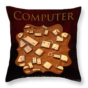 It Computer Professional  Throw Pillow