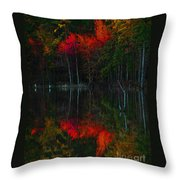 It Fall Time Again Throw Pillow