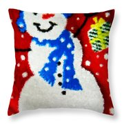 It Is Christmas Time Throw Pillow