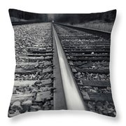 It Is Coming Throw Pillow