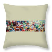 It Is Fitting To Feel The Pain Of Others Throw Pillow