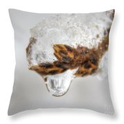 It Is  Melting Throw Pillow