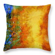 To Be Born Again Throw Pillow