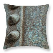 It Riveting Throw Pillow
