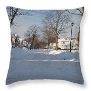 It Snowed Throw Pillow