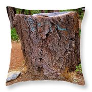 It Was A Tree Throw Pillow