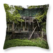 It Was Once Christmas Here Throw Pillow by Gary Heller