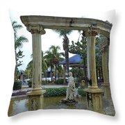 Italian Arch Throw Pillow
