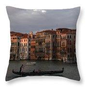 Italian Evening Throw Pillow