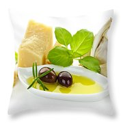 Italian Flavors Throw Pillow