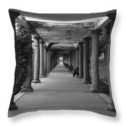 Italian Garden Throw Pillow